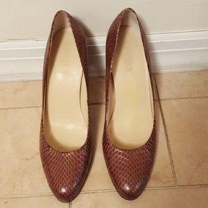 LAUREN by RALPH LAUREN Snakeskin look Shoes Heels